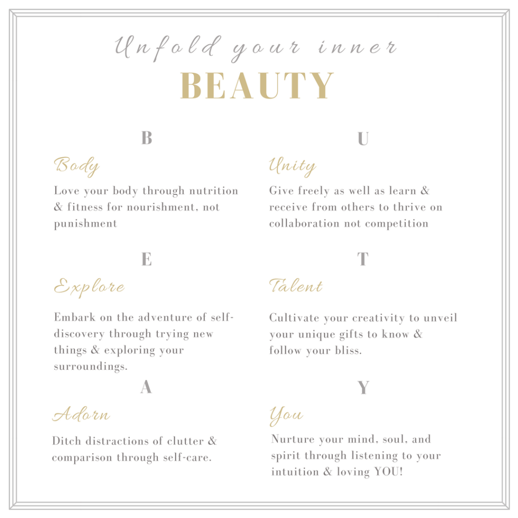 6 Pillars of Inner BEAUTY younfolded blog