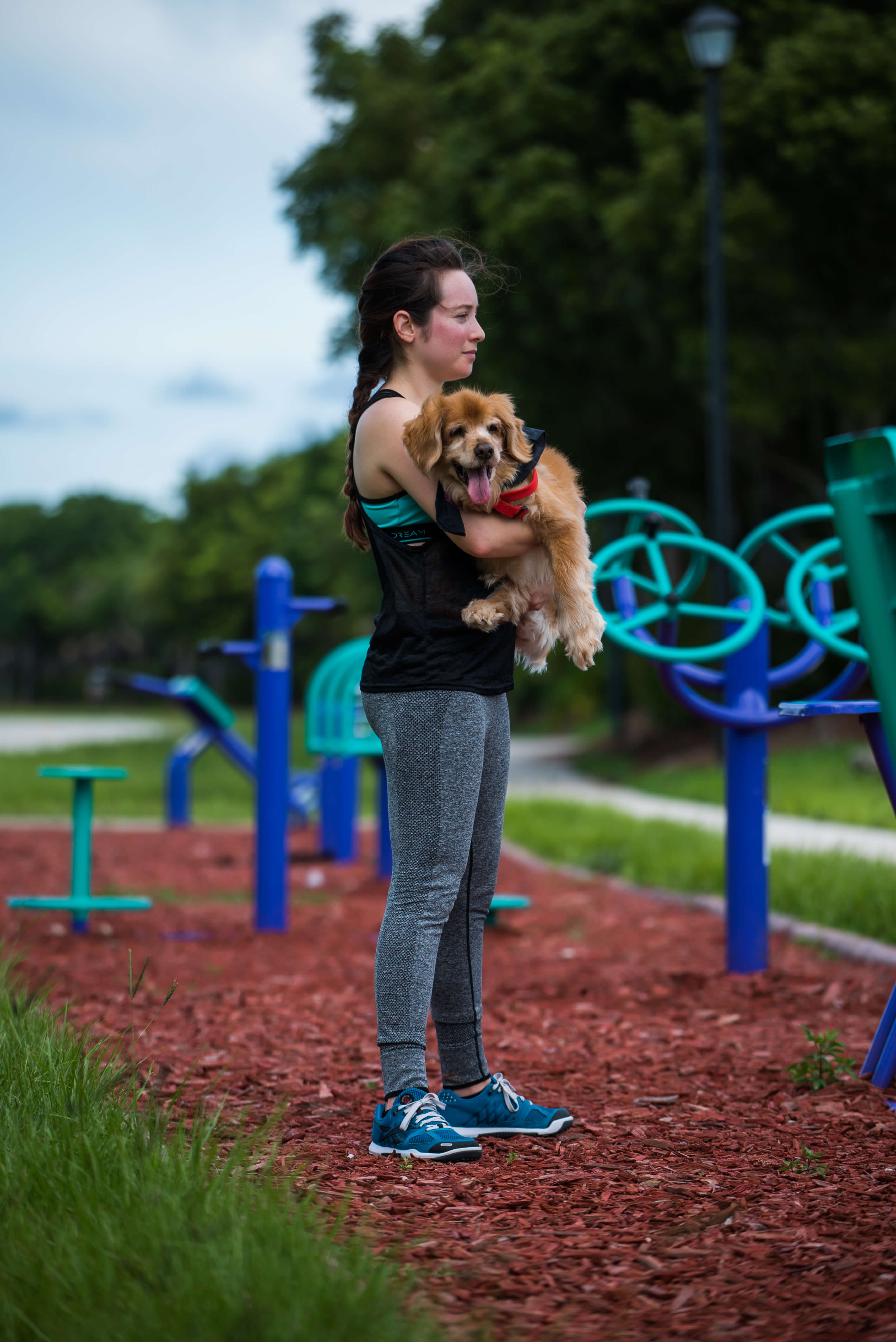 squats with dog pet workout exercises younfolded blog