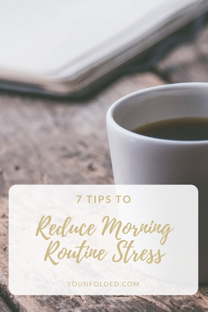 Simple, healthy ideas to reduce stress in your morning life. Check them out!