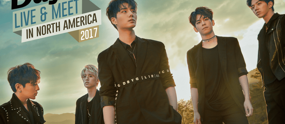DAY6 LIVE & MEET IN NORTH AMERICA 2017