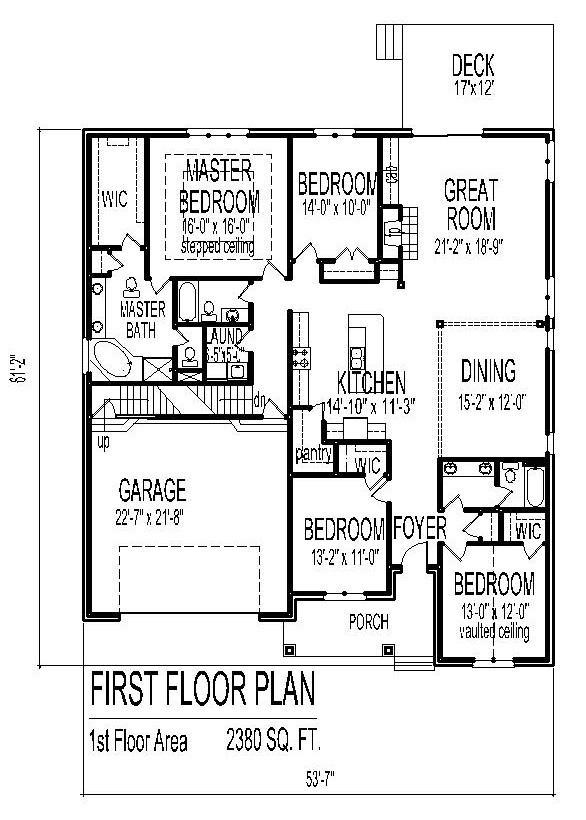 House Designs Single Floor Low Cost House Floor Plans 3