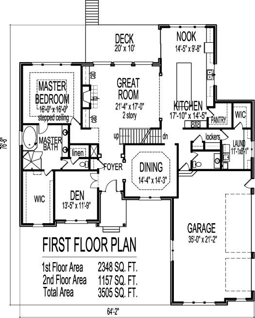 Stone Tudor Style House Floor Plans Drawings 4 Bedroom 2