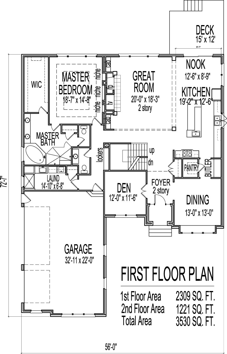 House Drawings 5 Bedroom 2 Story House Floor Plans with