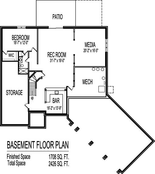 Angled Garage House Plans 2 Story 4 Bedroom Modern