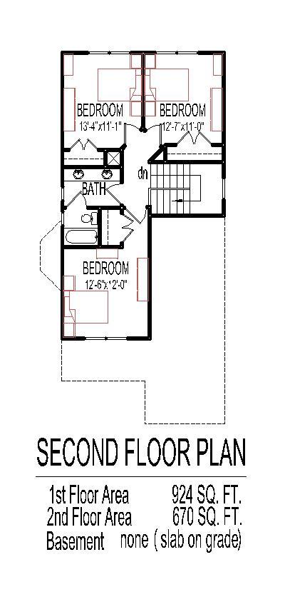 2 Story Small Home Design Narrow Lot Tiny House Floor