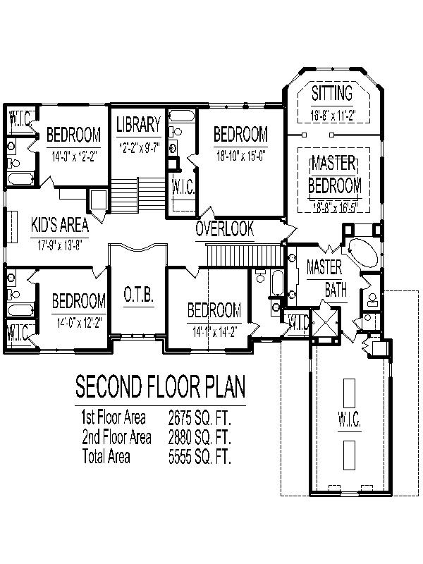 5000 sq ft House Floor Plans 5 Bedroom 2 story Designs