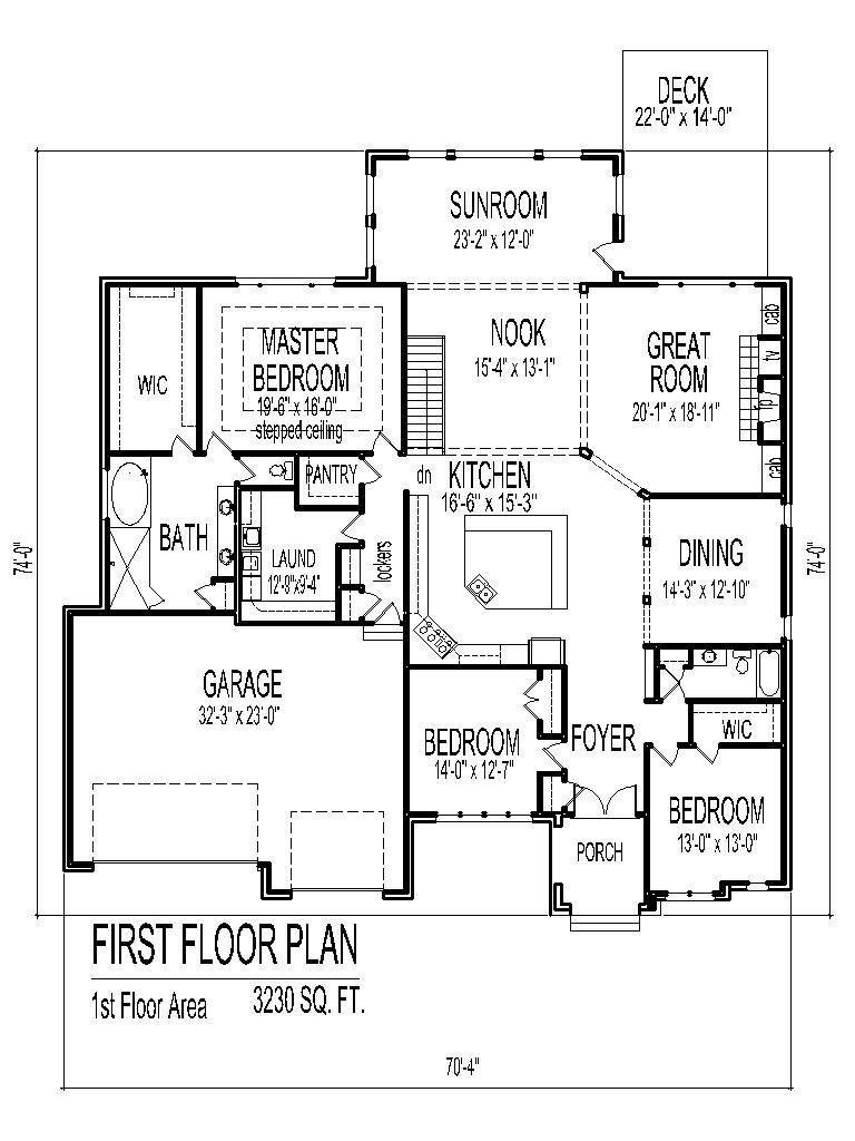 5 Bedroom House Plans Single Story 3d Omgshesdifferent