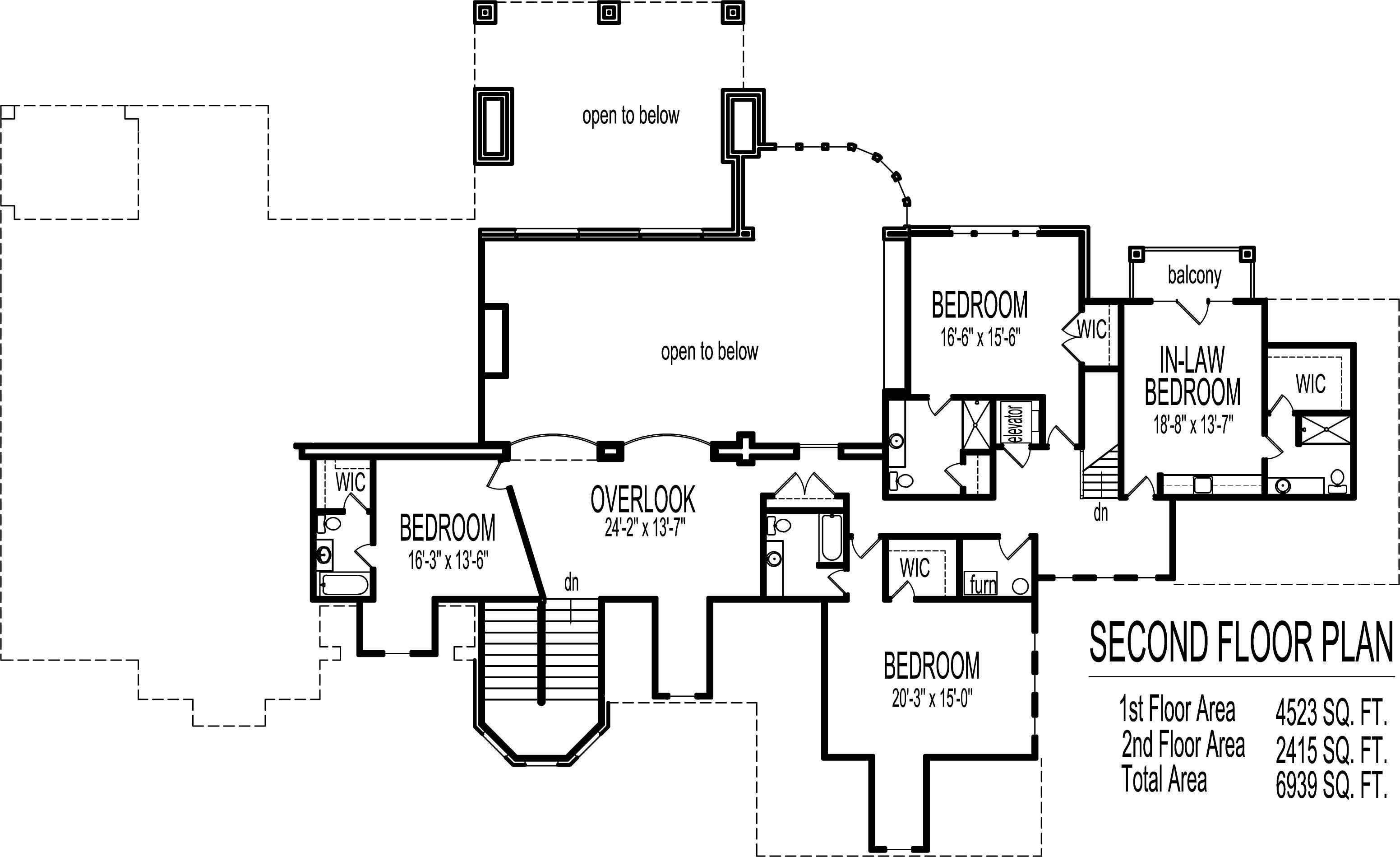 Mansion House Floor Plans Blueprints 6 Bedroom 2 Story