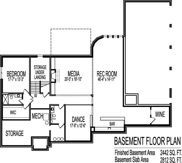 6000 Square Foot Million Dollar House Floor Plans 6