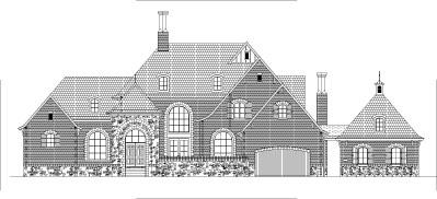 Dream House Floor Plans Blueprints 2 Story 5 Bedroom Large