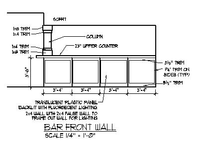 Home Bar Ideas Plans Basement Bar Designs Blueprints Drawings Photos