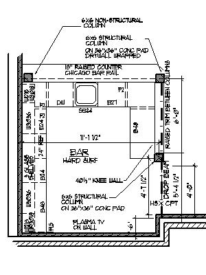Blueprints For A Bar Plans DIY Free Download timber gable