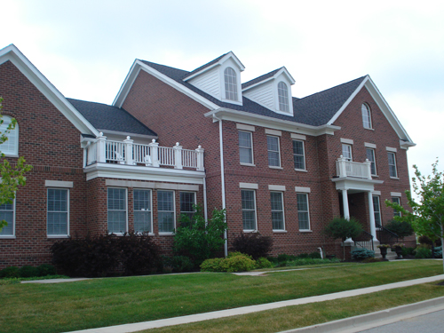 Large Colonial House Floor Plans Designs 2 Story with 4