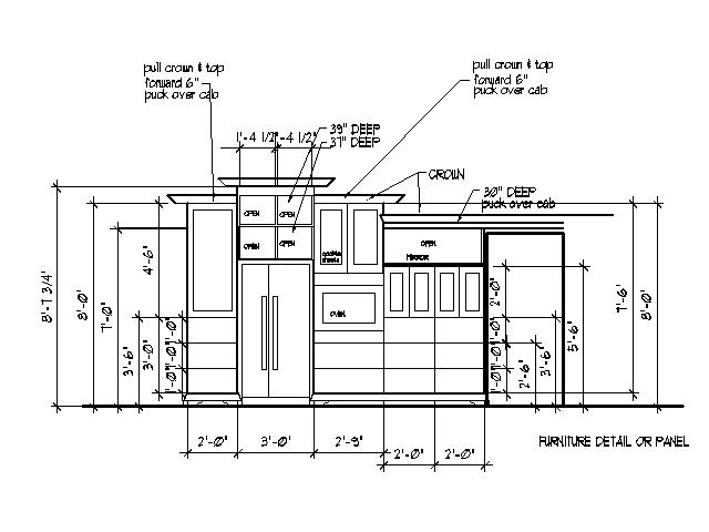 Kitchen Cabinet Drawings Plans DIY Free Download Wood