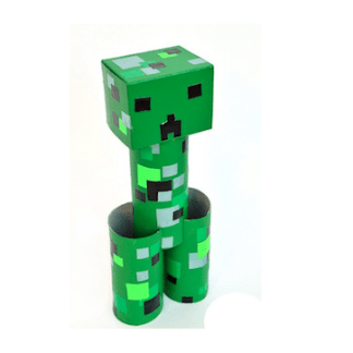 image of creeper made from recycled materials
