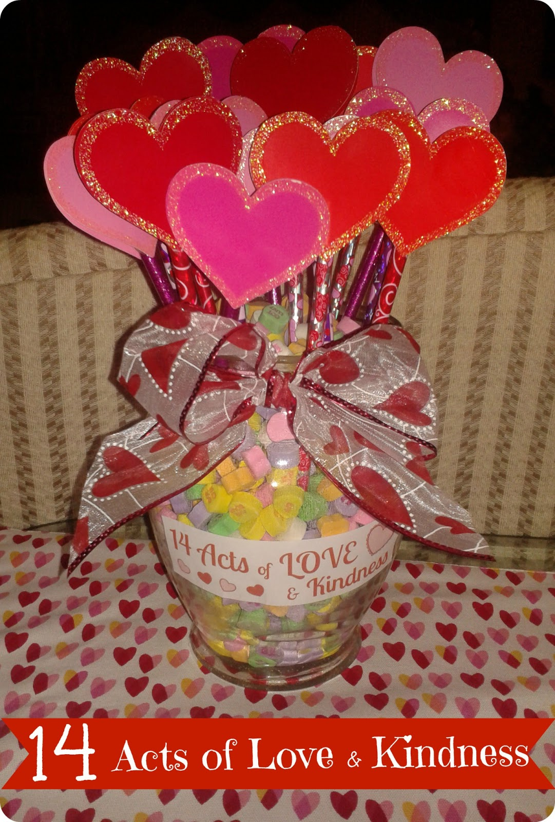 Valentine S Day Craft 14 Acts Of Love Amp Kindness