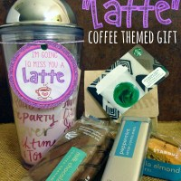 "I'm Going To Miss You A ""LATTE"" Coffee Themed Gift + Printable"