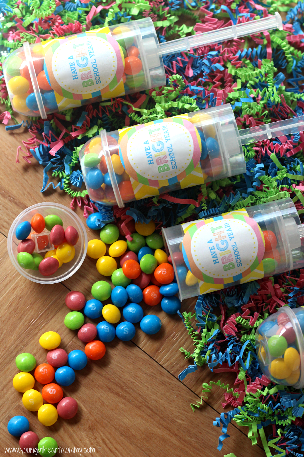 Paper Push Pop Containers