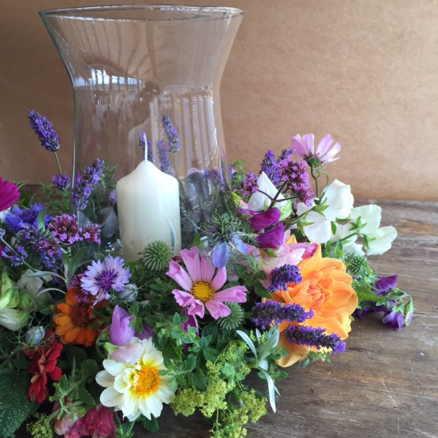 Wedding flowers, Winsley