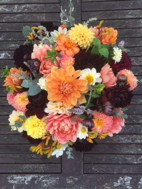 British flowers, Hartley farm-shop