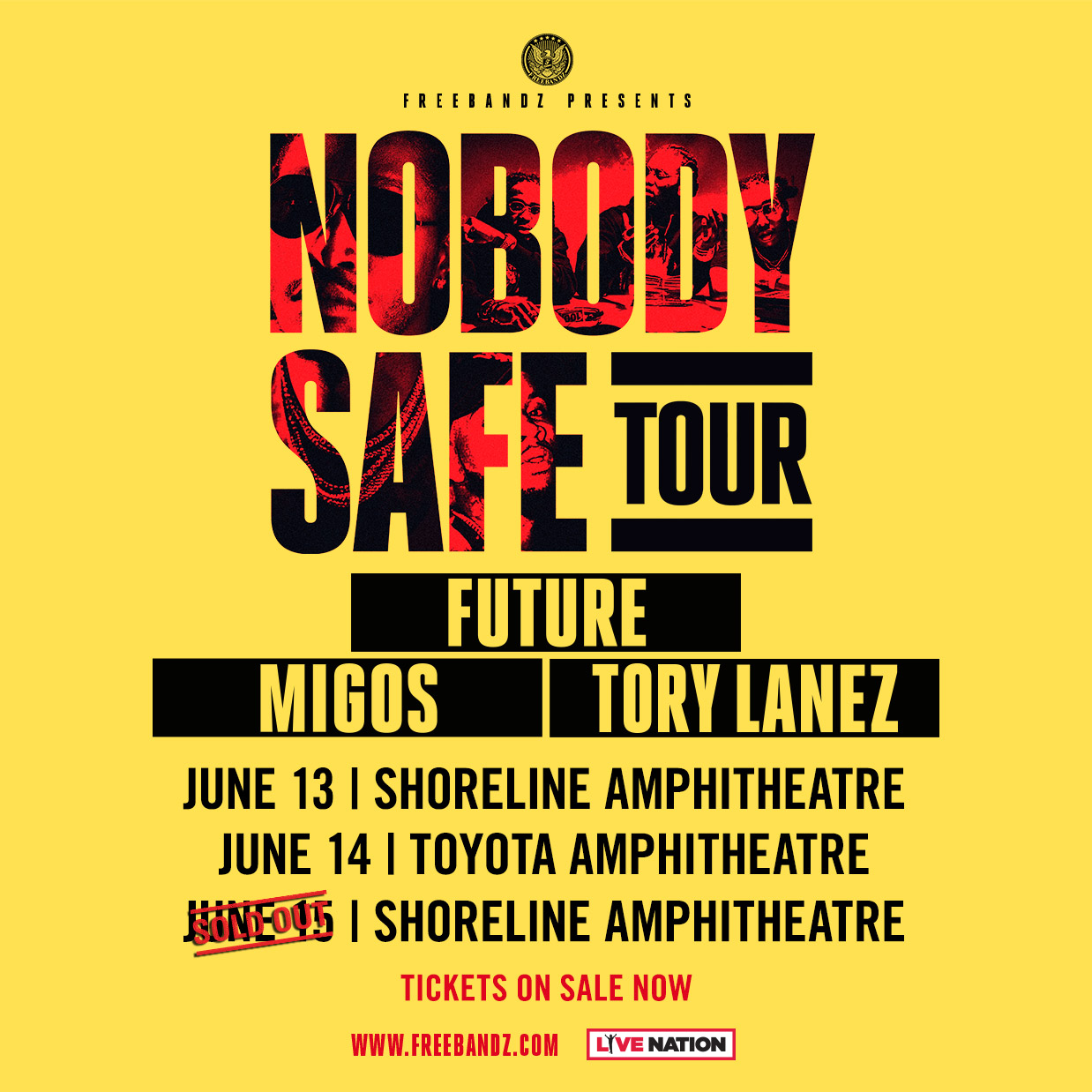 Image result for Future: Nobody Safe Tour toyota