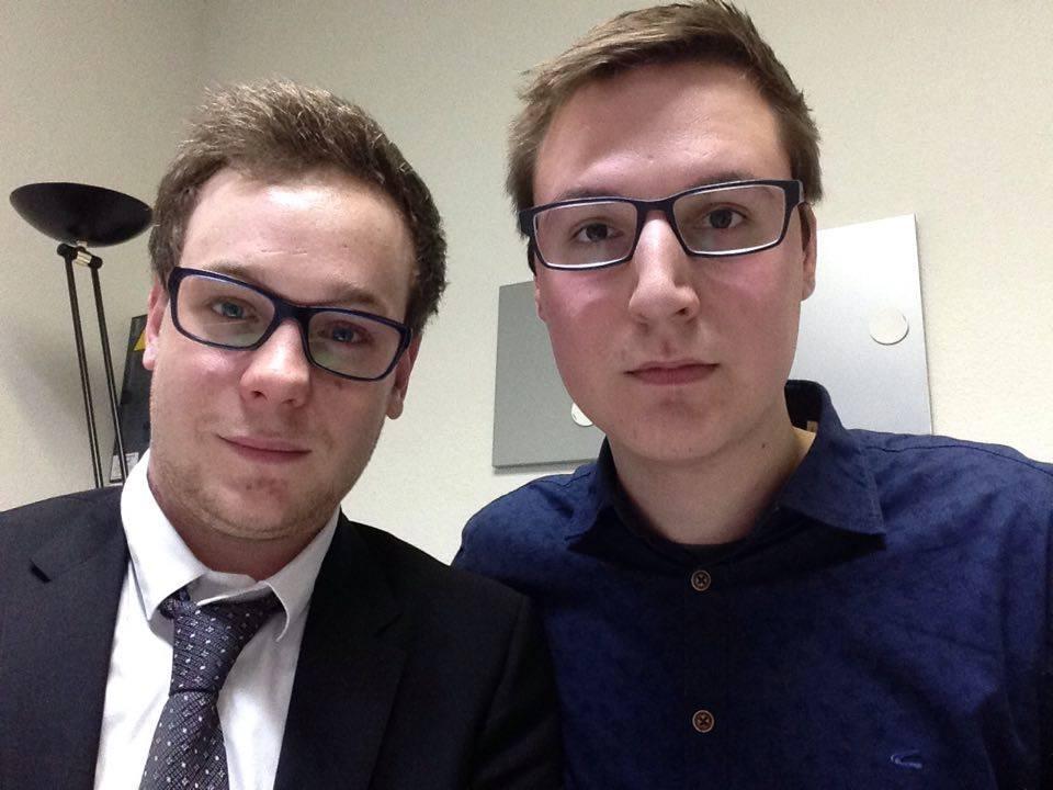 Cédric et Gilles