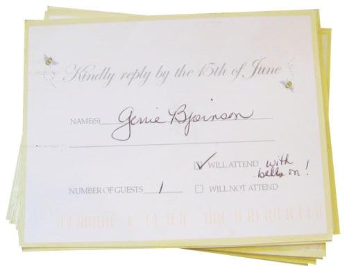 Wedding Invitation Response Card Wording Vertabox