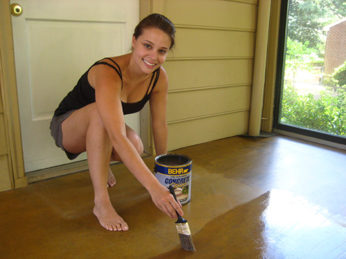 Staining A Concrete Floor Is Easy, Just Follow Our Step By Step Tutorial