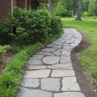 Laying A Slate Path (We Dug It, Laid It, & Now There's Grass!)