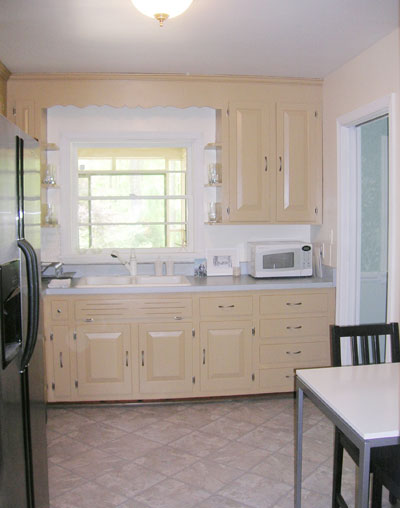 buy old kitchen cabinets corner tables painting your is easy just follow our step by how to paint