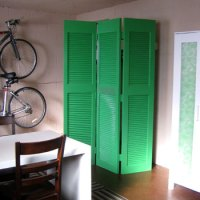Making Bifold Doors Into A Screen To Hide The Water Heater