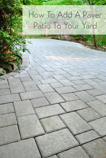 How to build a paver patio its done young house love how to add a paver patio solutioingenieria Images