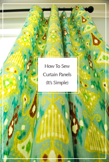 how-to-sew-curtain-panels