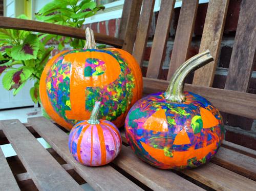 four nocut pumpkin decorating ideas for kids