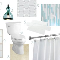 The Long Ignored Master Bathroom…