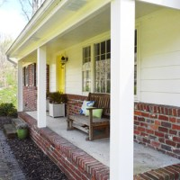 How We Boxed Out Our Old Curvy Porch Columns