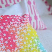 Grate Expectations (How To Make A Geometric Fabric Stencil)