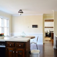 Painting Dark Trim & Paneling In The Kitchen