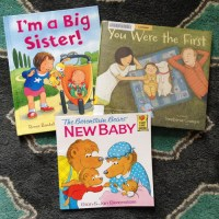 Books For A New Big Sister (or Brother)
