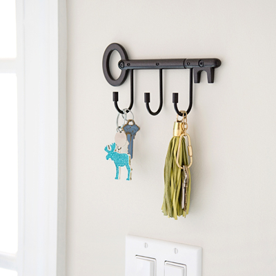 Key Hook Rail (Comes in 3 Colors!)