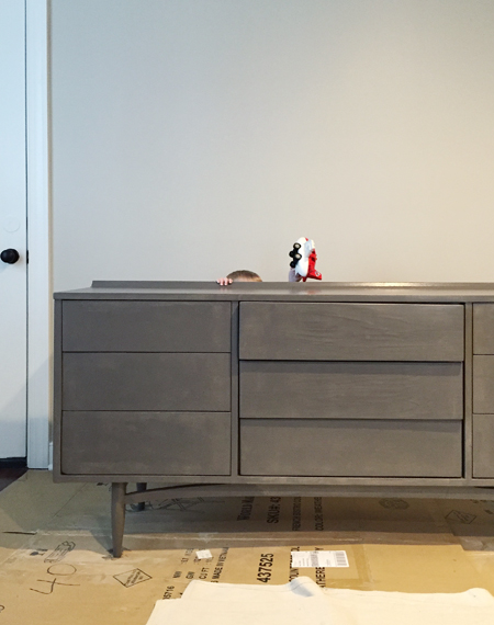 How-To-Hide-TV-Wires-Second-Coat-of-Paint-On-Dresser