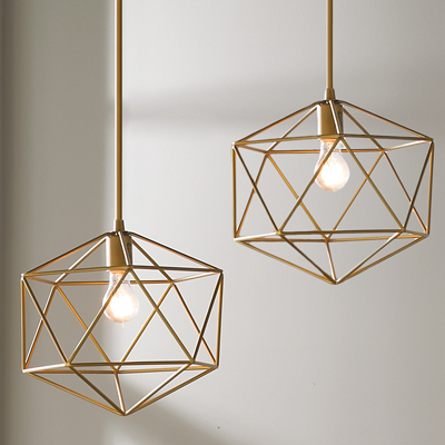 Equilateral Pendant for Shades of Light