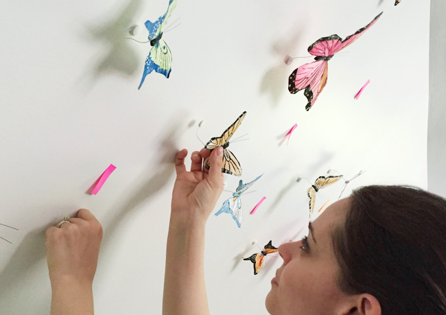 Playful-Family-Bonus-Room-Sticking-Butterflies