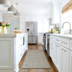 Kitchen Reno Soapstone Remodel Chapter 3 The Big Reveal Young House Love White Final Down Aisle To Fridge