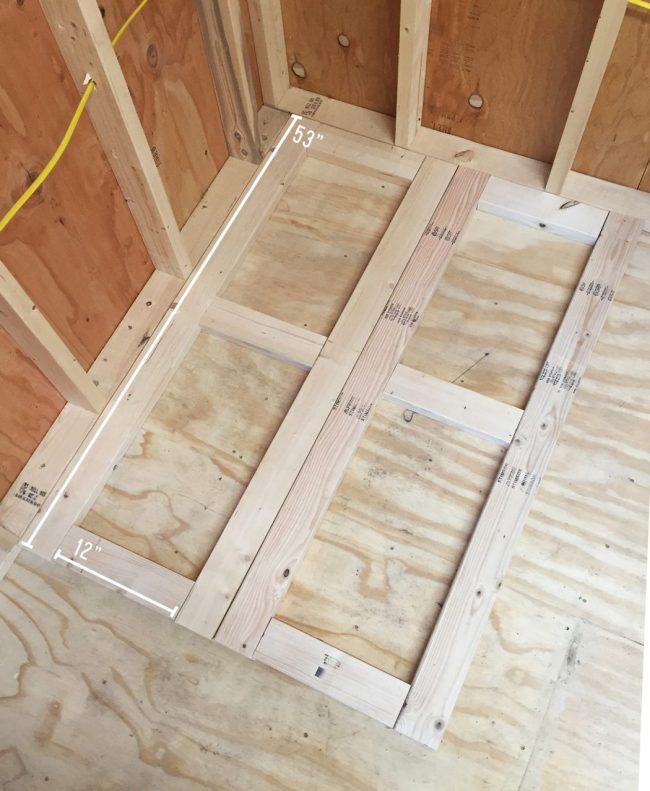 shed storage ideas DIY scrap wood organizer