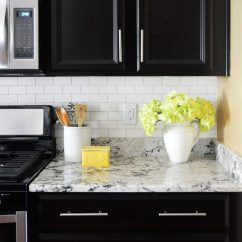 Kitchen Backsplashes Cleaning Wood Cabinets How To Install A Subway Tile Backsplash Young House Love Installing For 200