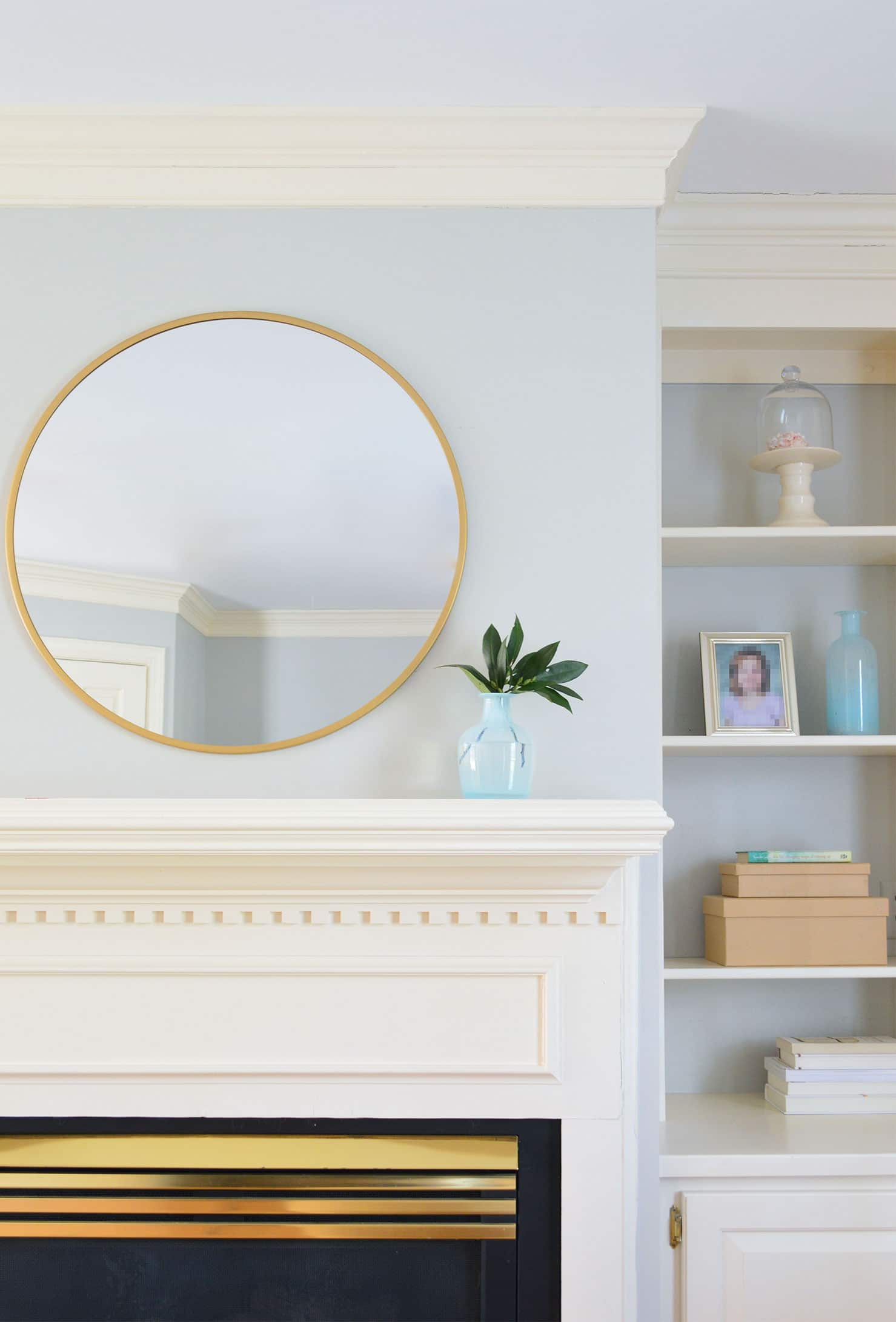 how to stage fireplace mantle to sell your home