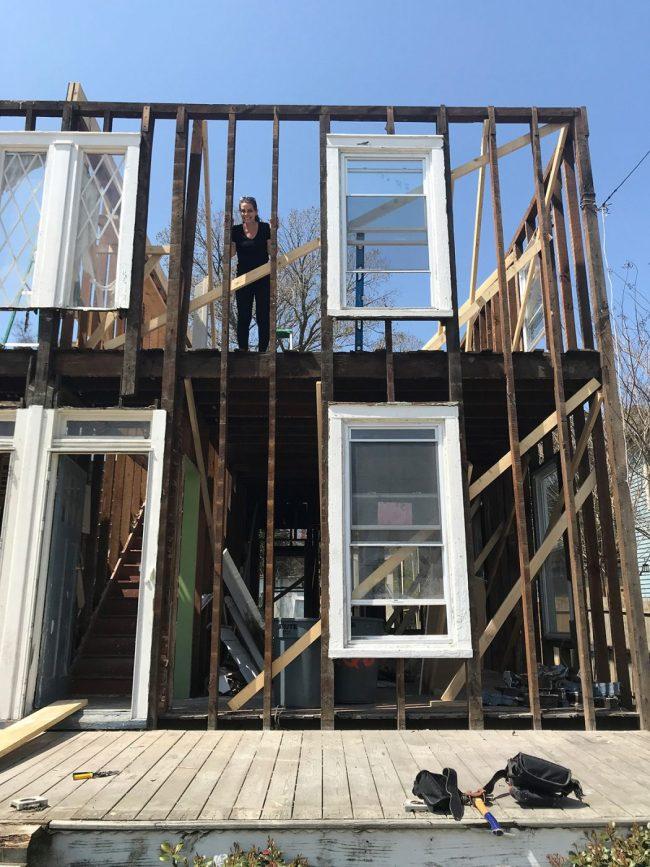Let The Duplex Rebuilding Begin!