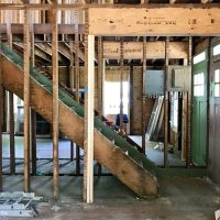 The Duplex Is Coming Back Together, And It's Happening Quickly!