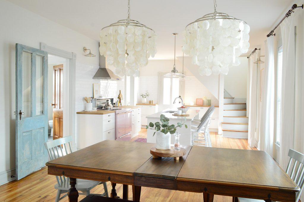 making a light livable living room